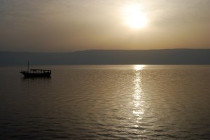 Bible Prayers - Sunrise over Sea of Galilee