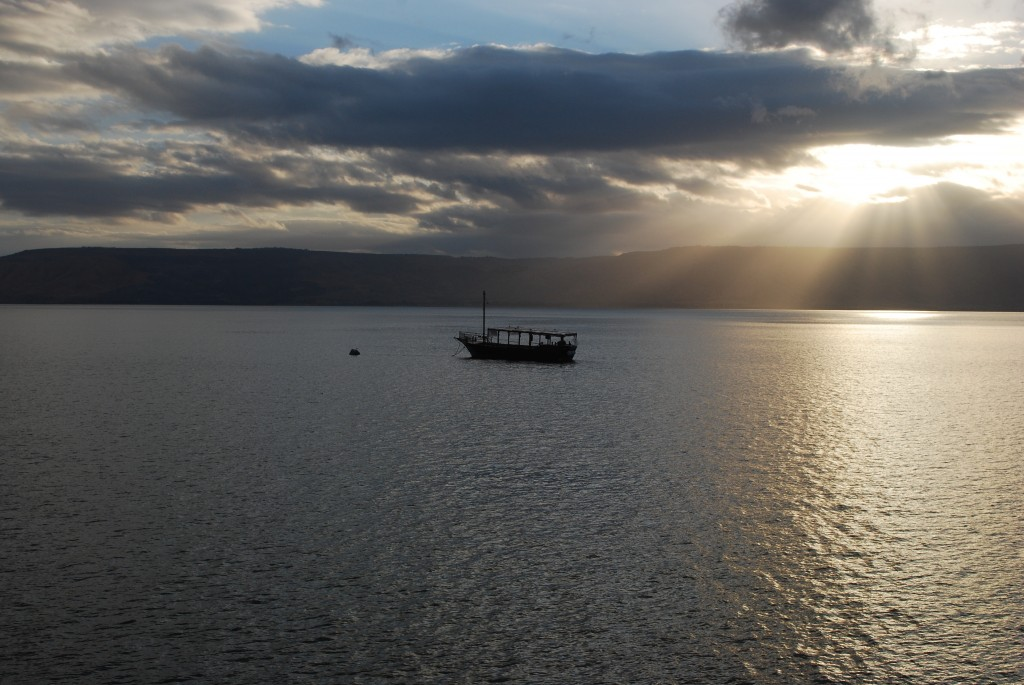 Sunrise, Sea of Galilee, Israel