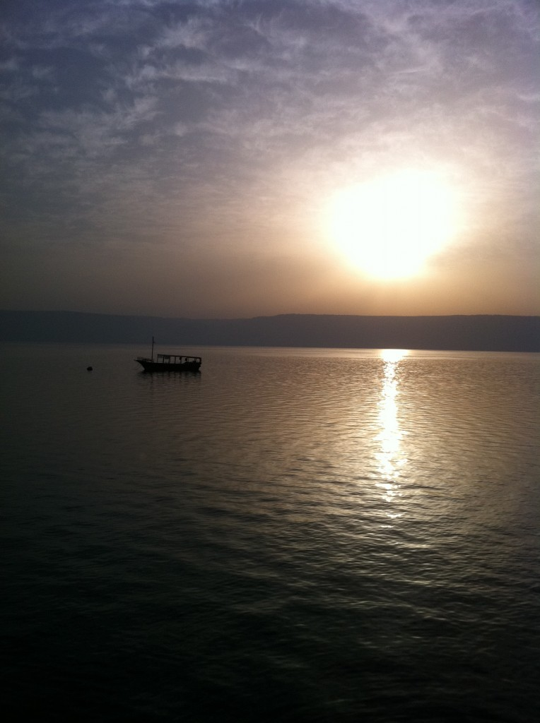 Sunrise on the Sea of Galilee, Israel
