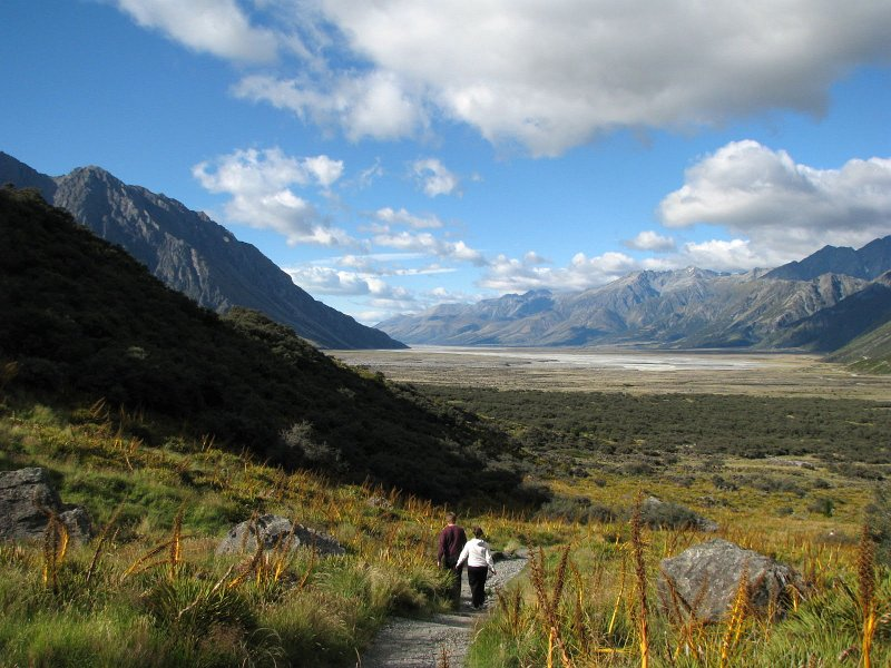 Tasman River Valley, New Zealand