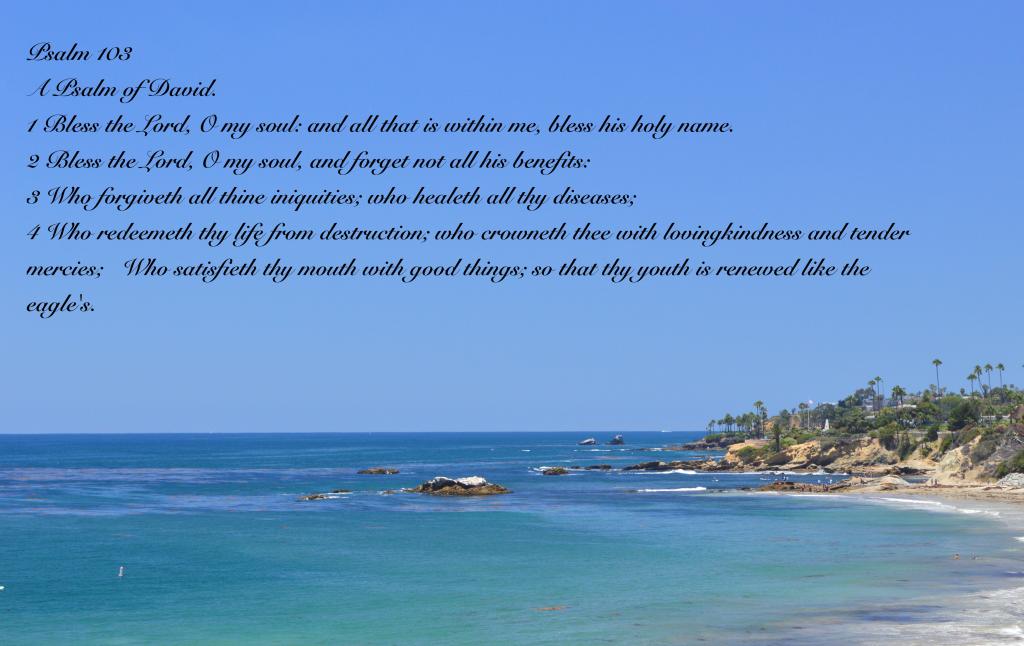 Psalm 103:1-5, A Psalm of David