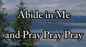 Abide in Me and Pray Pray Pray - New Passion Week Song