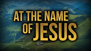 New song: At the Name of Jesus - a prayer