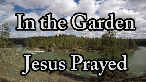 In The Garden Jesus Prayed - New Christian Song
