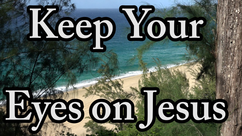 Encouragement to Keep Your Eyes on Jesus, A Race To Run