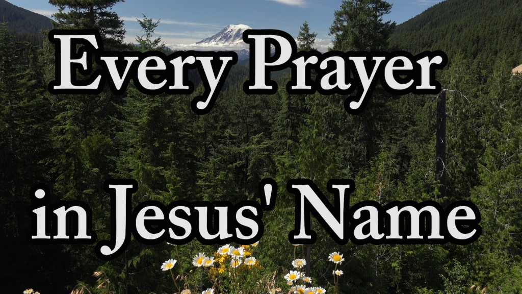 Every Prayer in Jesus Name – Shoot The Prayer Arrows Of Faith
