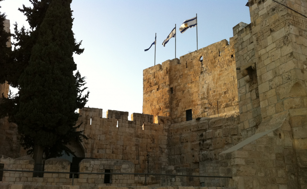 Bible Prayer - Prayer for Jerusalem - walls of Jerusalem, Israel